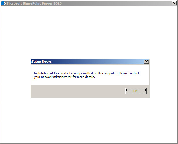 SharePoint2013-BlockInstall