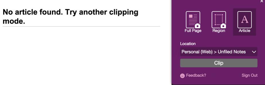 OneNote Clipper 2 0… | The Tech Blog of Dan Usher